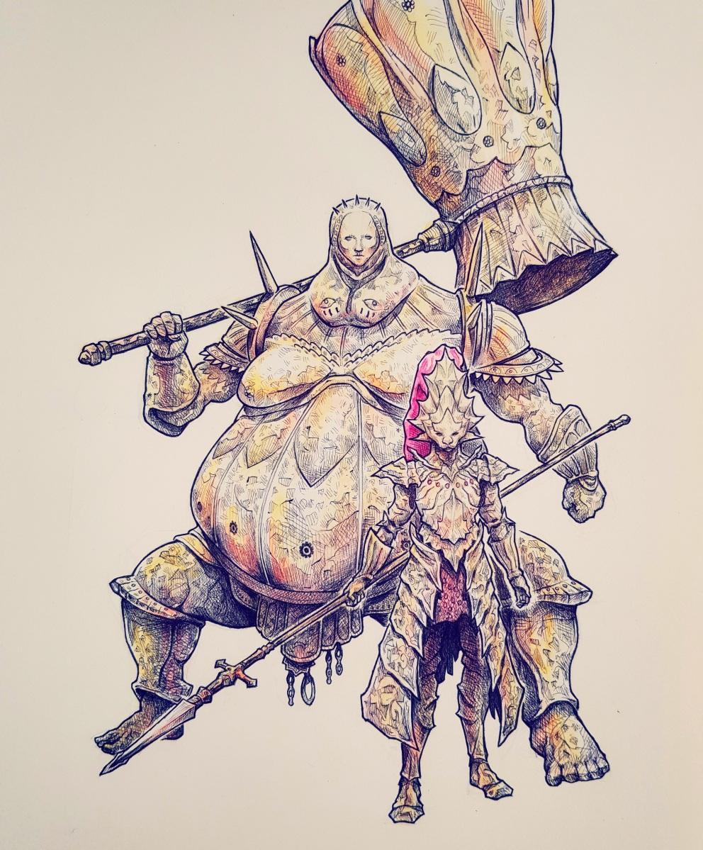 Artwork: Dark Souls Fan Art Made by GeckoLord